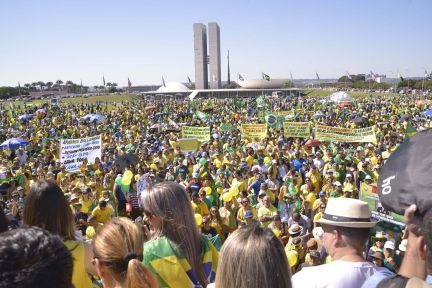 Manifestantes fazem atos pró-Bolsonaro em 156 cidades   Brasil   EL PAÍS Brasil