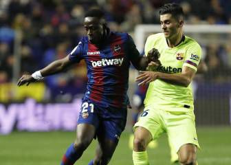 e32ca2ed7bf Latest reports were that Barcelona would escape punishment for fielding  Chumi, who was suspended for Barcelona B, but Levante's president says they  will ...