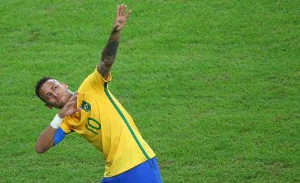Resultado  É ouro! Brasil vence a Alemanha nos pênaltis e é campeão do  futebol masculino na Olimpíada  66cd067e4f969