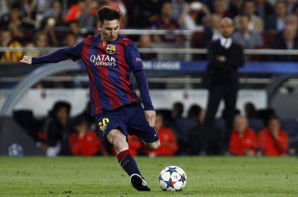 Dos goles de Messi y uno de Neymar noquean al Bayern de Múnich