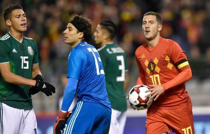 a31c12665 Lozano guía a México en el empate 3-3 frente a Bélgica