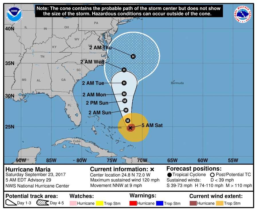 6fc785cbf Huracán María provoca la muerte de al menos 50 personas en el Caribe ...